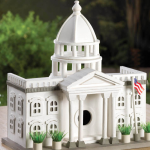 White House Birdhouse at Eastwind Wholesale Gift Distributors