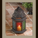 Large Glass Candle Lantern at Eastwind Wholesale Gift Distributors